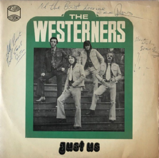 Westerners (The) ‎- Just Us (LP) (Signed) (G++/G++)
